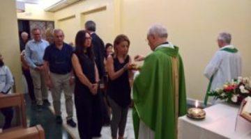 Celebrazione Eucaristica il momento della Comunione