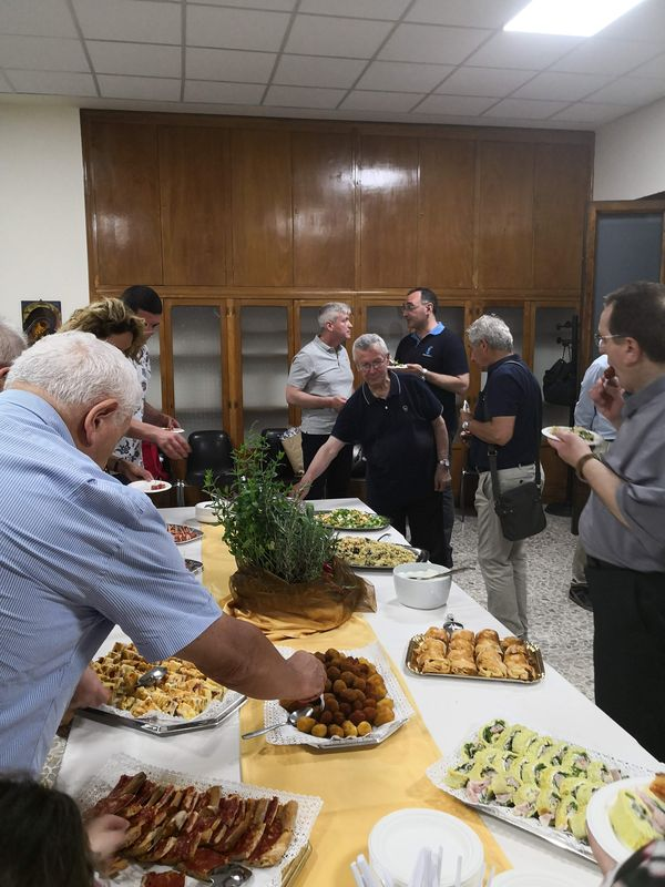 Catering organizzato da Rete PAX